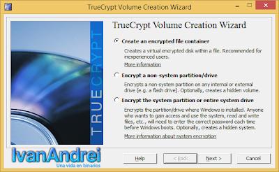 TrueCrypt - Seguridad USB