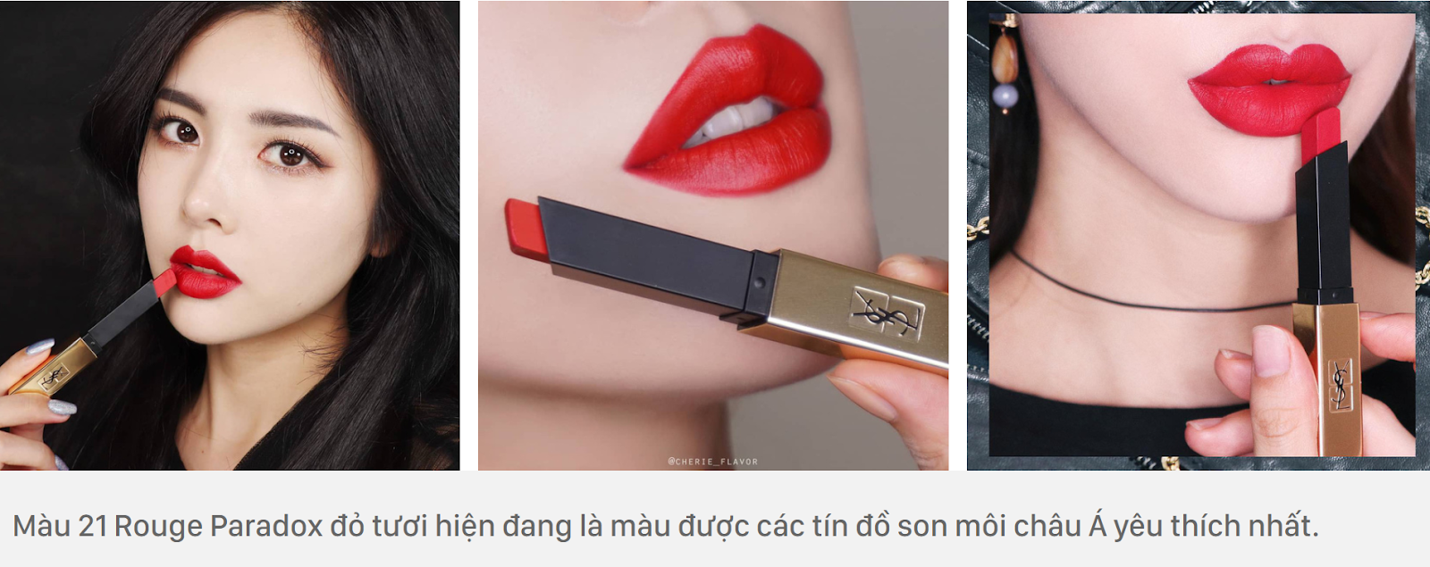 YSL Rouge Pur Couture The Slim Matte