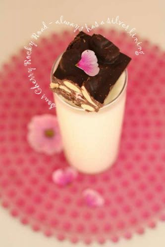 Sour Cherry Rocky Road The Silver Lining