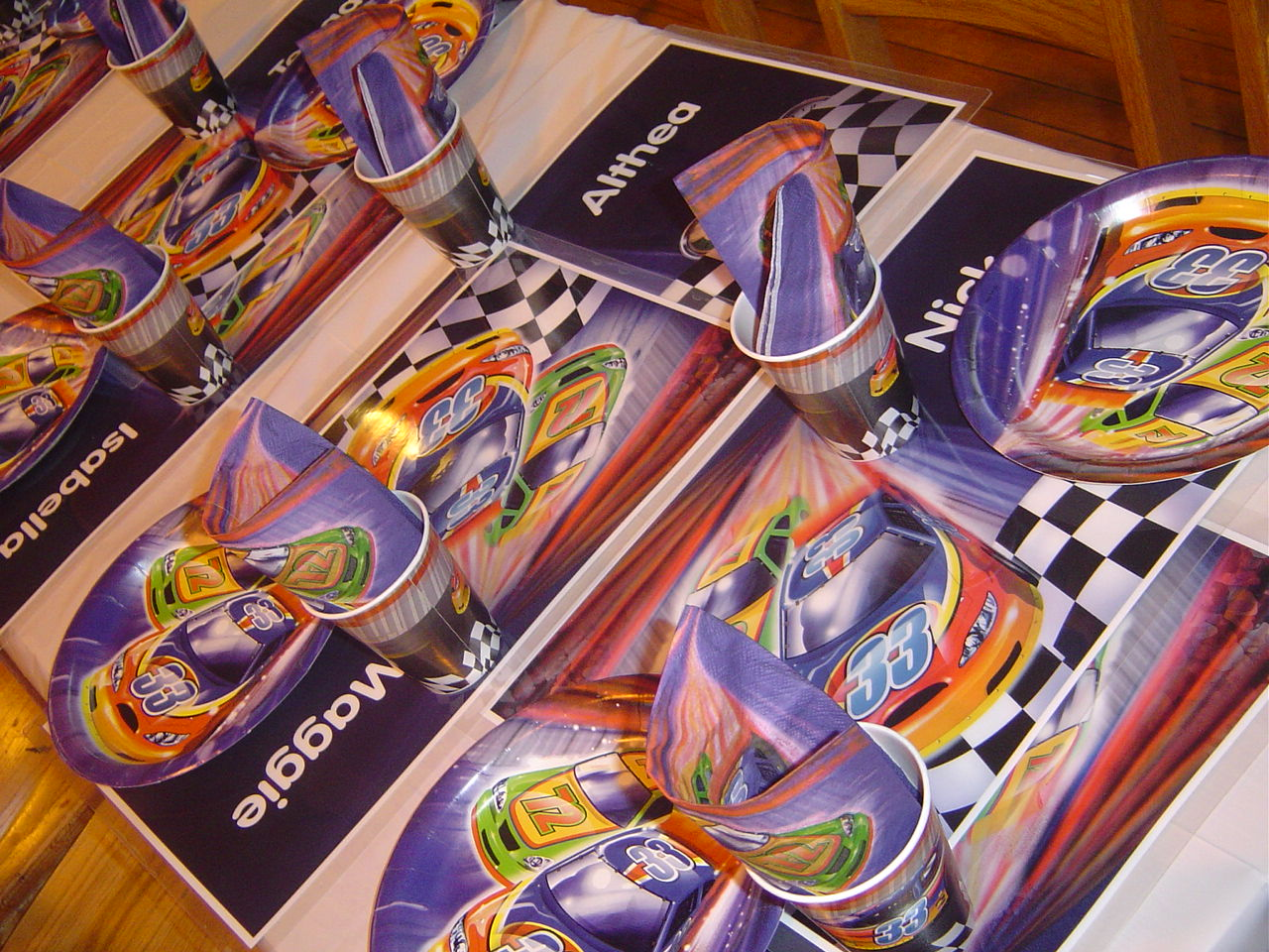 Cars Table Decorations Race Car Birthday Party Linda Kayes Partymakers