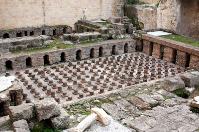 Roman Baths in Beirut Lebanon