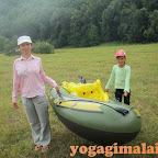 Йога-отдых 2013. Сплав по р.Инзер. центр Гималаи