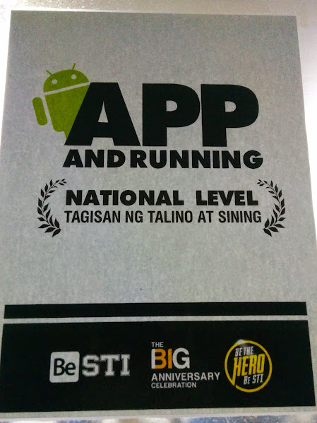 Jomar Tigcal's Blog: App and Running