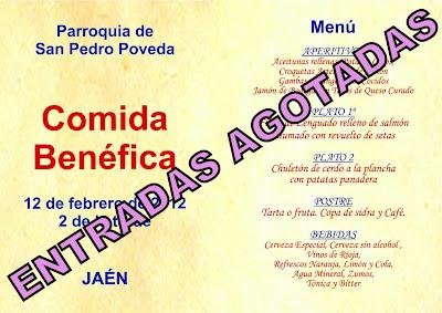 Agotadas las entradas de la Comida Benéfica