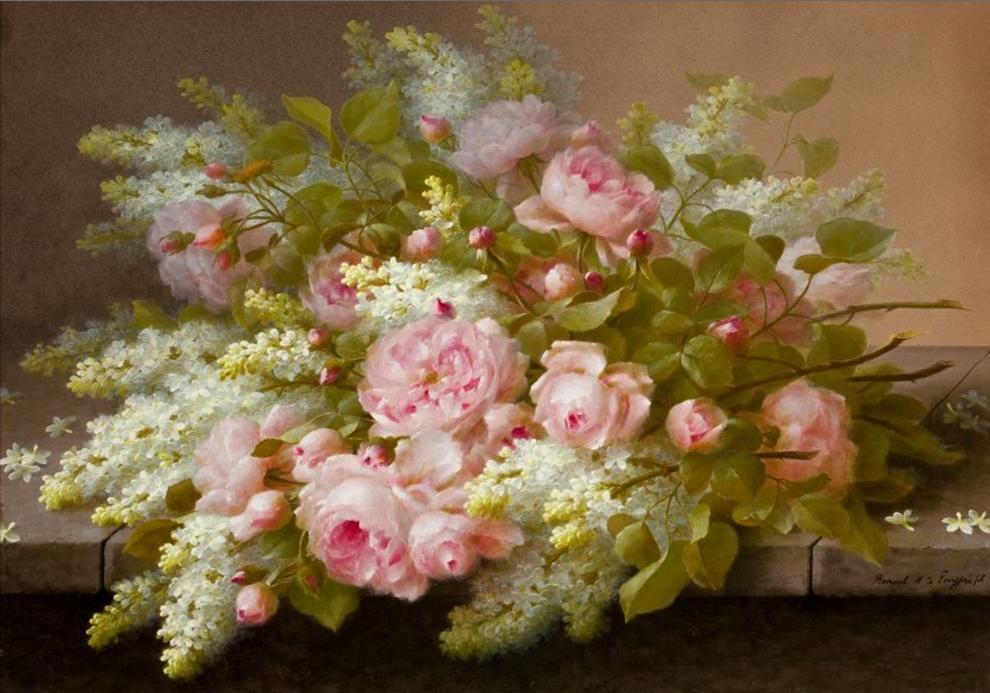 Matin lumineux bon anniversaire vero for Bouquet de fleurs lumineux