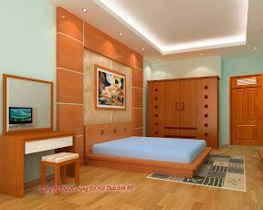 Giường ngủ gỗ ghép 06