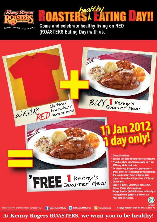 Kenny Rogers ROASTERS RED Ipoh
