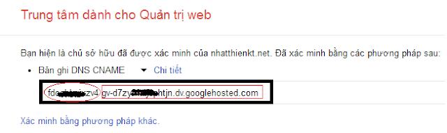 Hướng dẫn cấu hình DNS và add tên miền vào Blogger (blogspot) lên matbao.net