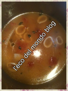 risotto ai calamari e pomodorini in pentola a pressione