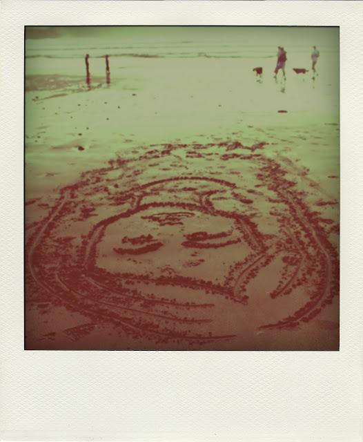 disegno sabbia irlanda amore
