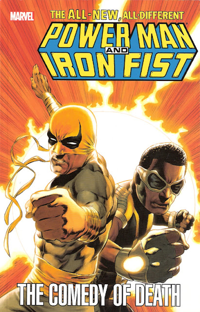 Power Man and Iron Fist: The Comedy of Death cover