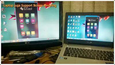 Screen Mirroring dari HP/Tablet/PC ke Proyektor secara wireless