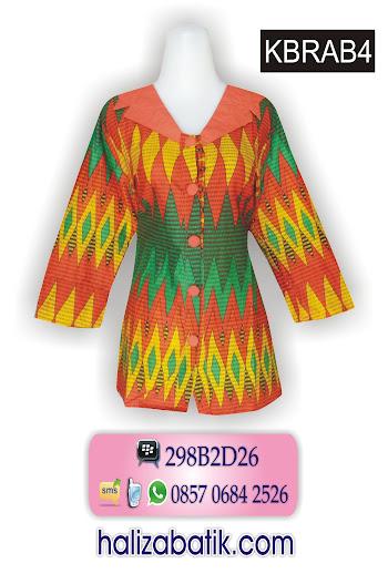 model baju batik atasan, batik modern, baju wanita