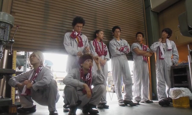Minami Keisuke, Furukawa Yuki, Kanai Yuta, Takei Emi, Nagayama Kento, Ishida Takuya, Kaku Kento