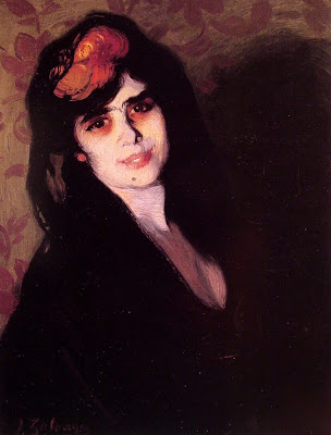 Ignacio Zuloaga - Portrait of a Young Woman