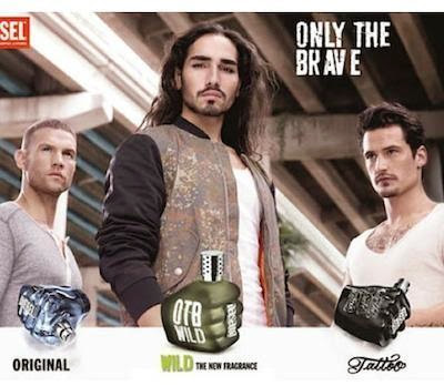 Diesel Only the Brave, fragancia, campaña OI 2014