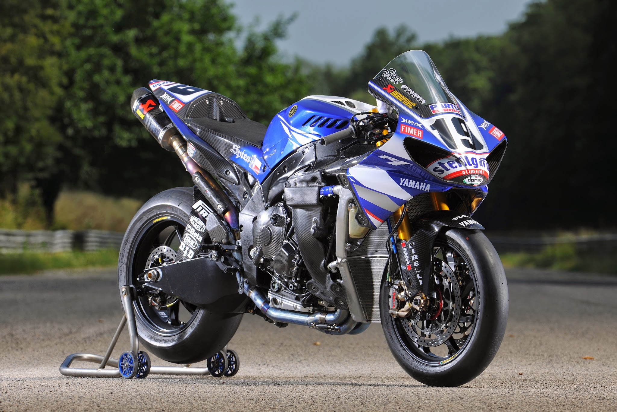 Modifikasi Kawasaki Edge Balap