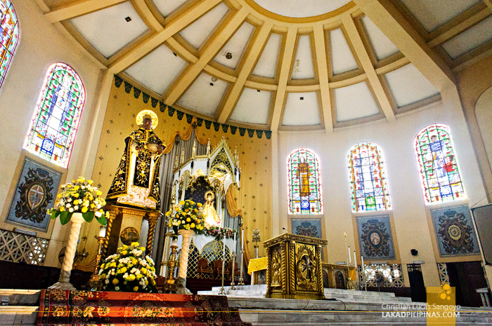 Grand Altar at Sto. Domingo Church in Quezon City