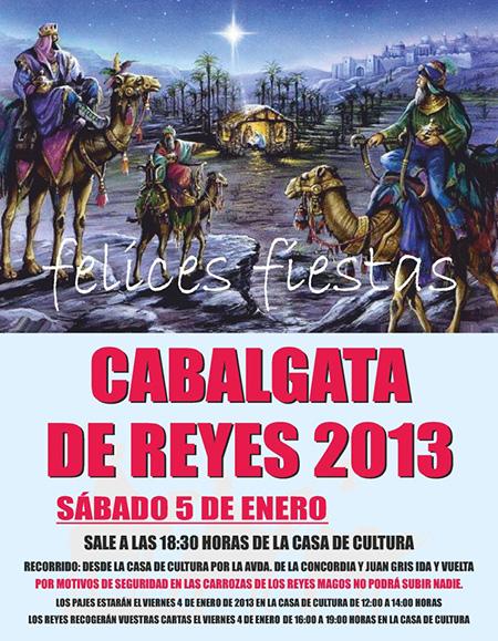 Cabalgata de Reyes 2013 de Mejorada del Campo