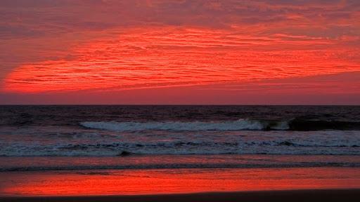 Benaulim Beach at Sunset, Goa, India.jpg