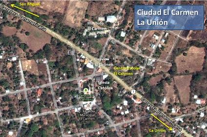 Ciudad El Carmen, La Unión