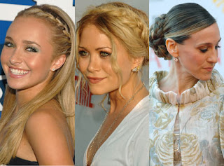 Quick and Easy Hairstyle Ideas - Celebrity hairstyle ideas
