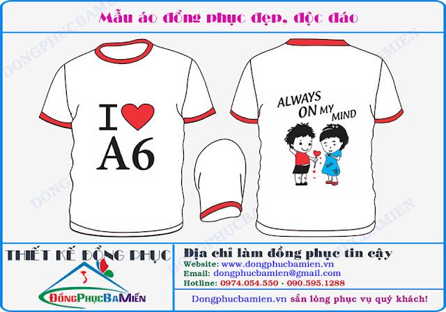 Dong phuc hoc sinh 10A6 truong THPT Vinh Loc