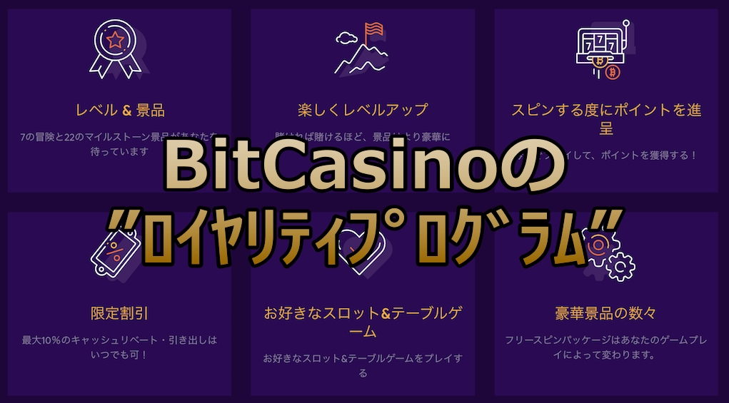 Bitcasino bonus online