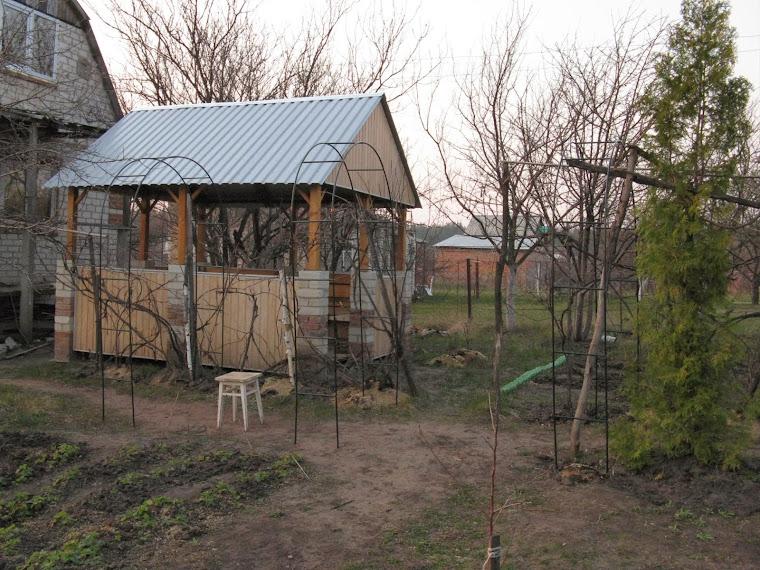 Дача: Арки для винограда своими руками