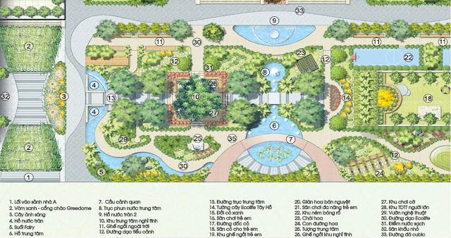 Tiện ích Ecolife Tây Hồ