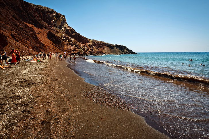 Red Beach Santorini (15 Best Beaches in Greece You Must Set Foot On).