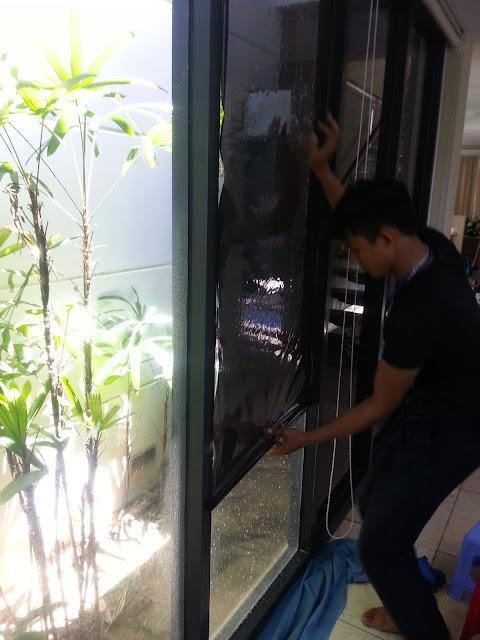 thi công decal dán kính chống nắng tại Đà Nẵng