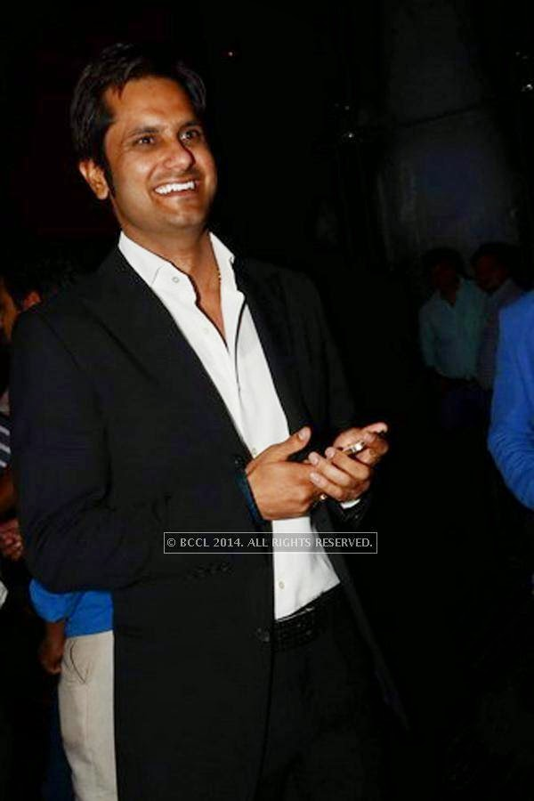 Ashok Singh Jaunapuria during the SS Group launch party, held at Taj Vivanta, in Gurgaon.<br />