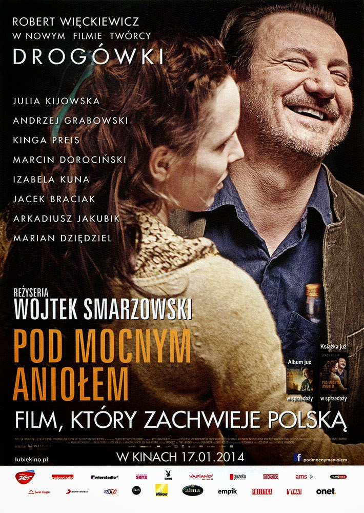 Ulotka filmu 'Pod Mocnym Aniołem (przód)'