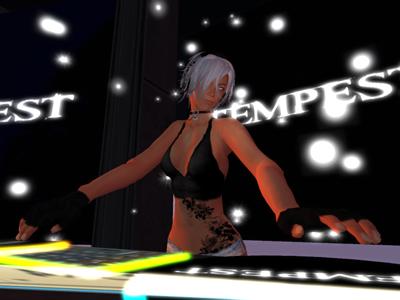 club TEMPEST パーティクルテスト 2011/09/11