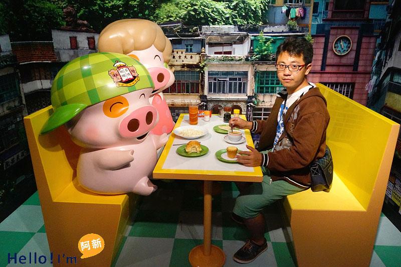 香港蠟像館-4