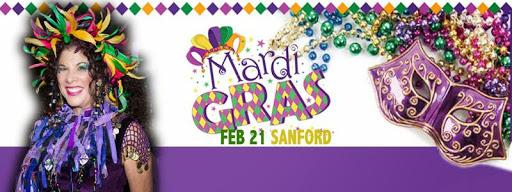 The 1st Annual Sanford Mardi Gras 'Sashay' & Street Party