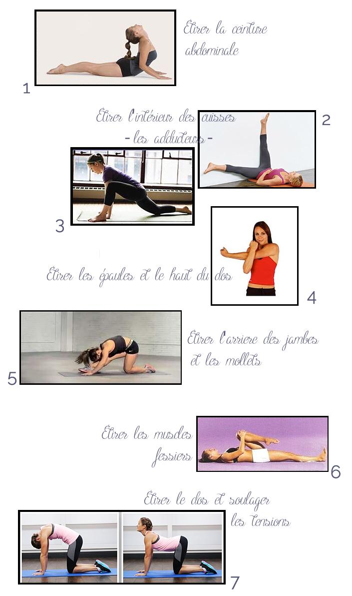 étirements, postures yoga, soulager maux de dos, gagner en souplesse, idées d'étirements après le sport
