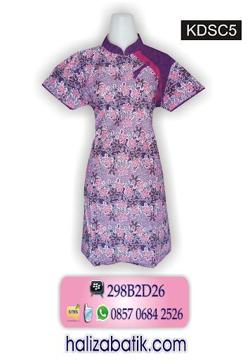 model baju 2015, contoh desain batik, model dress batik