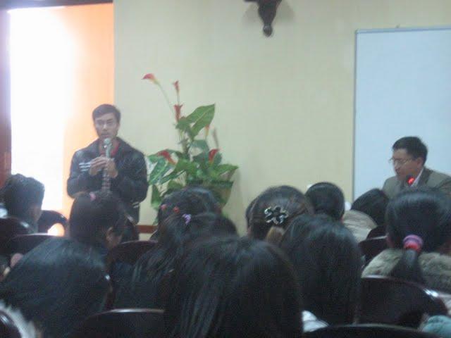 Hình ảnh buổi tĩnh tâm của SV Phát Diệm tại Đan Viện Xito - Châu Sơn