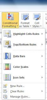 Conditional Formatting with MS Excel 2007 and 2010