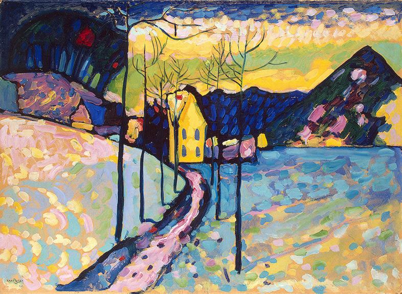 Wassily Kandinsky – Winter Landscape, 1909