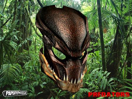 Berserker Predator Mask Papercraft