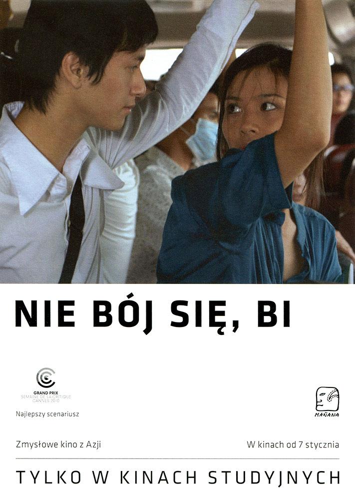 Ulotka filmu 'Nie Bój Się, Bi! (przód)'