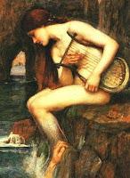 Η Λευκοθέα ήταν μια αρχαία Θεά της θάλασσας που αναγνωρίστηκε στην συγκεκριμένη περίπτωση, ως μετασχηματισμένη Νύμφη.