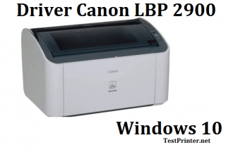 Free download printer software Canon LBP 2900 for Windows 10 32 bit