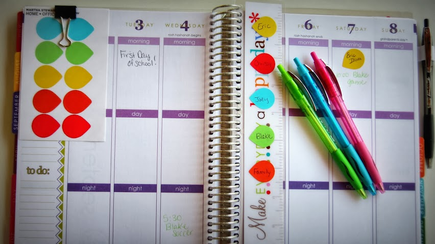 Back to school organization the calendar the taylor house - Back to school organization ...