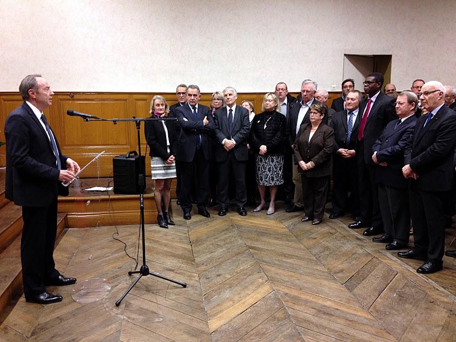 Cérémonie des vœux du sous-préfet le 13 janvier 2017 à Pontivy