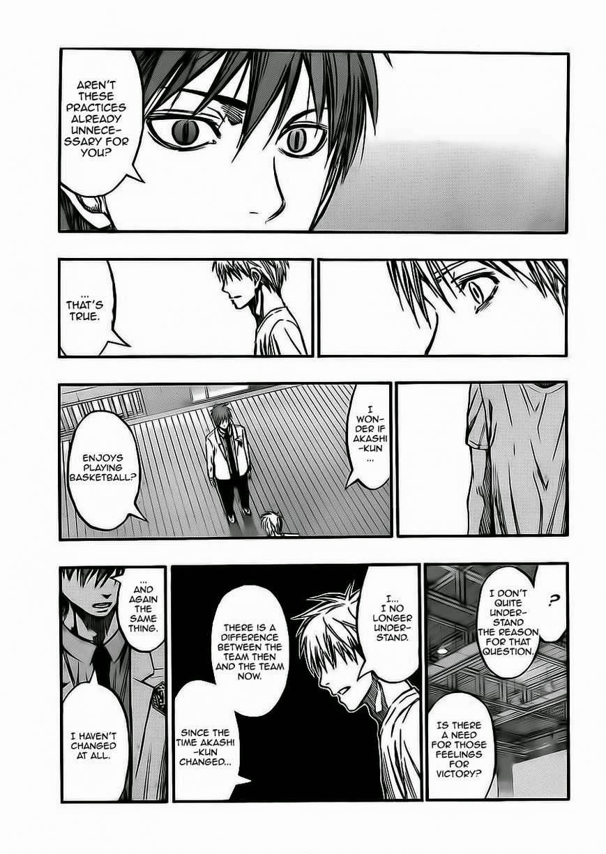 Kuroko no Basket Manga Chapter 222 - Image 15