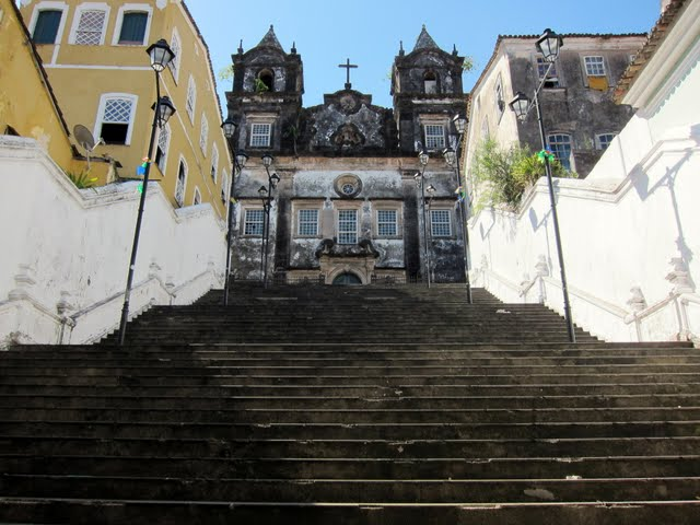 Church in Salvador Brazil